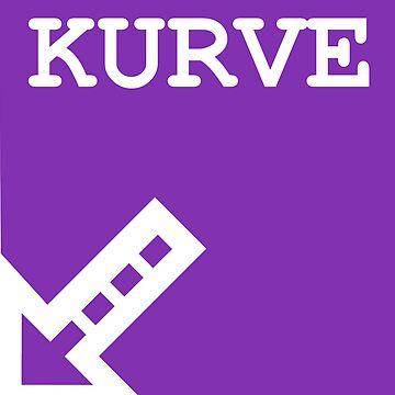 KURVE Logo by Timdim