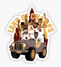 Cleveland Basketball Parade 2016 Sticker