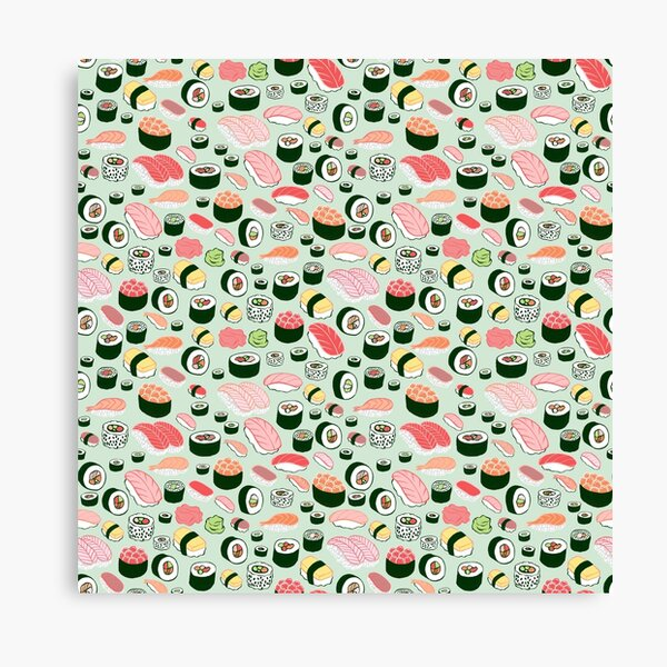 Sushi Forever! Canvas Print