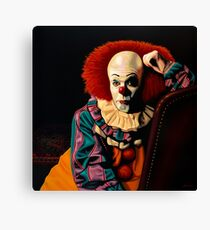 Pennywise painting Canvas Print