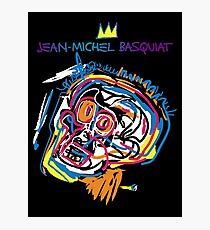 Jean Michel Basquiat Head Version 2 Photographic Print