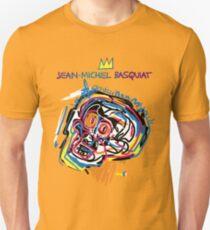Jean Michel Basquiat Head Version 2 Unisex T-Shirt