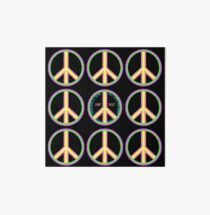 Summer of Love 50th Anniversary - Hippies to Hipsters Art Board