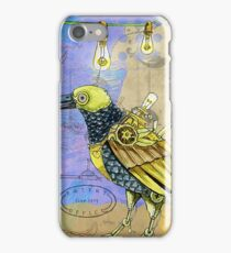 Steampunk bird iPhone Case/Skin