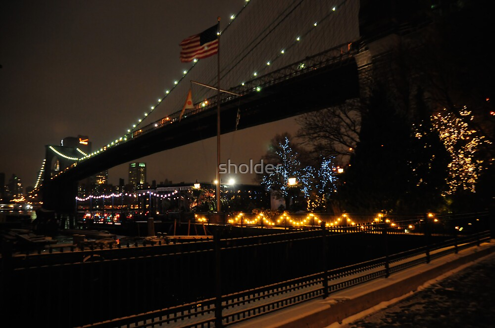 Brooklyn Bridge Another View by sholder