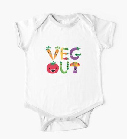 Veg Out - white Kids Clothes