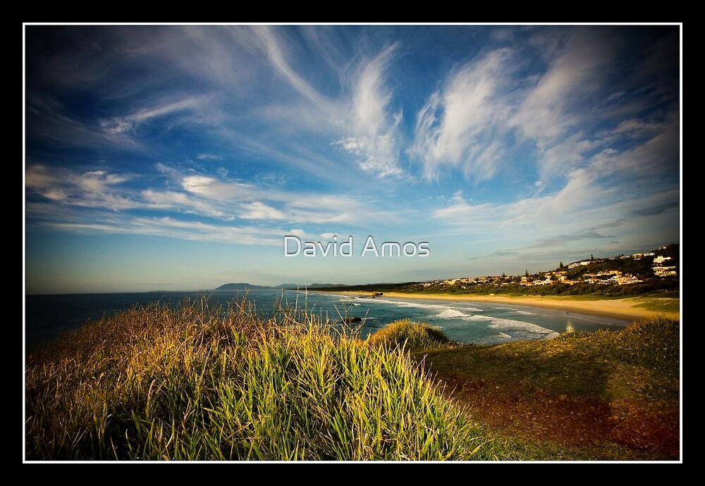 Light House Beach - Wide angle. by David Amos