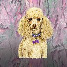 Poodle on Paperbark to love by didielicious