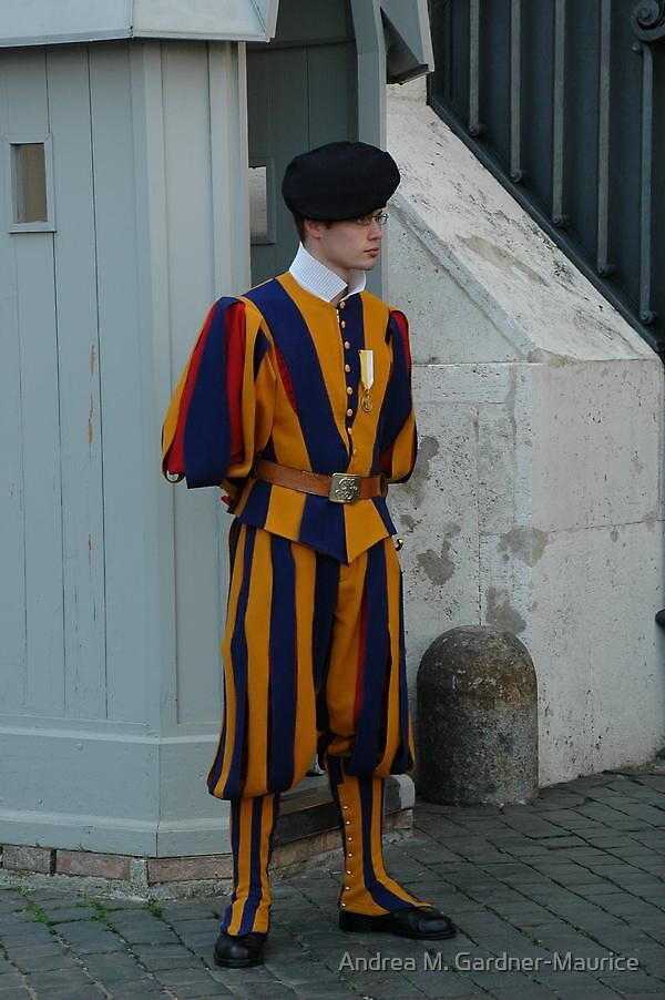 Swiss Guard by Andrea M. Gardner-Maurice