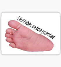 premature baby  Sticker