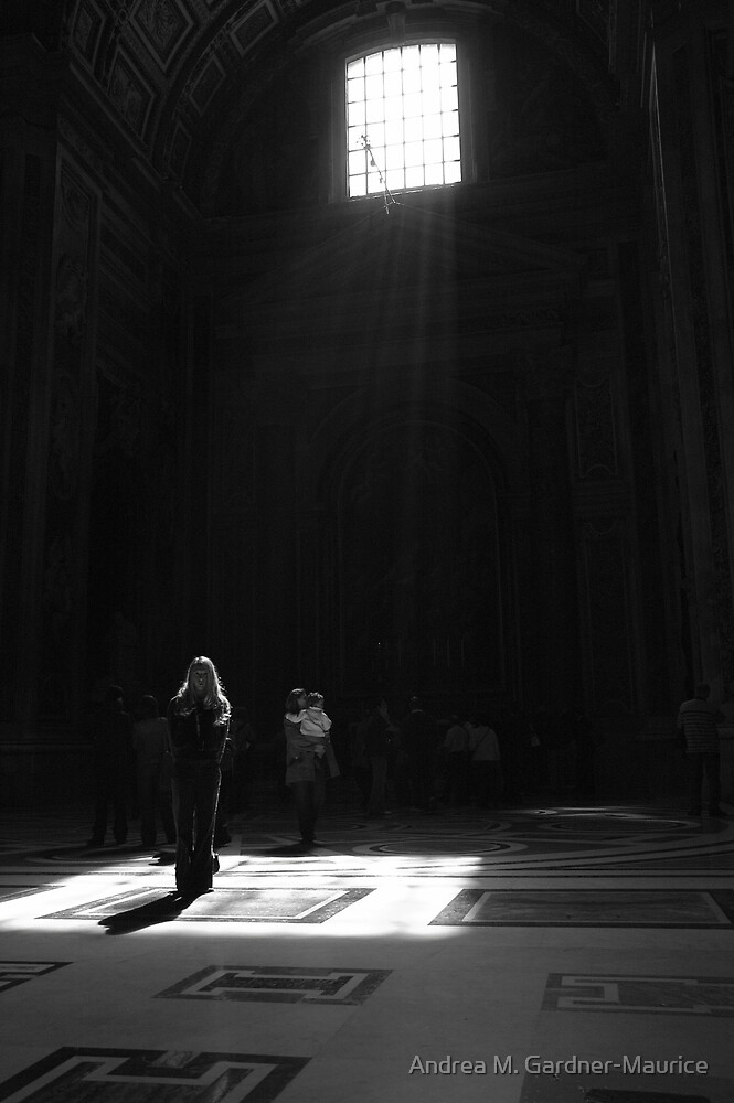 St Peters Basilica  by Andrea M. Gardner-Maurice