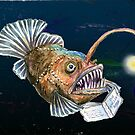 Angler Fish reads The Anglers Bible by didielicious