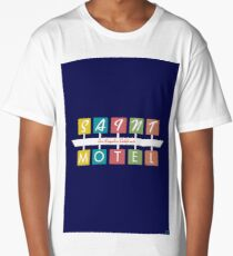 Retro Motel Sign Long T-Shirt