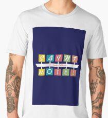 Retro Motel Sign Men's Premium T-Shirt