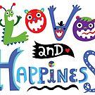 Love & Happiness by Andi Bird