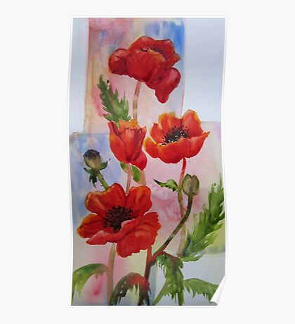 The Joy of Poppies Poster