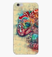 vintage elephant iPhone Case
