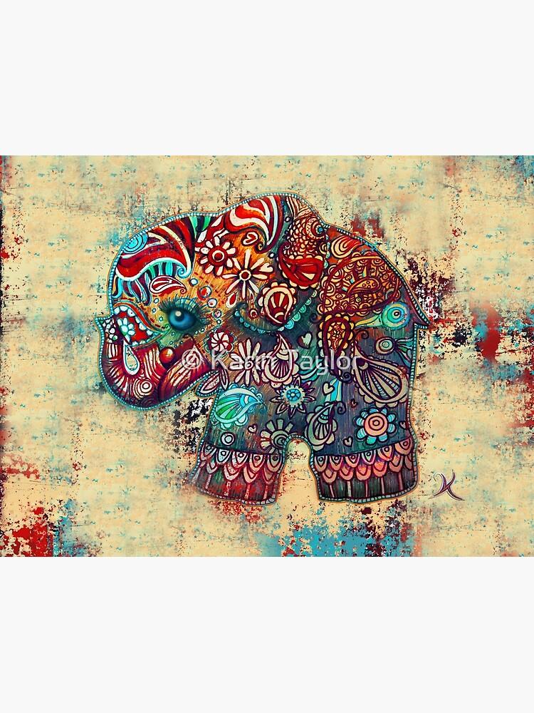 Vintage Elefant von karin