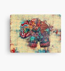 vintage elephant Metal Print