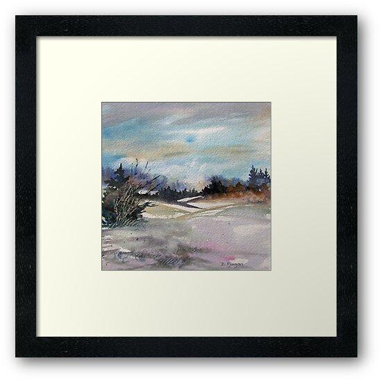 Winter Landscape by bevmorgan