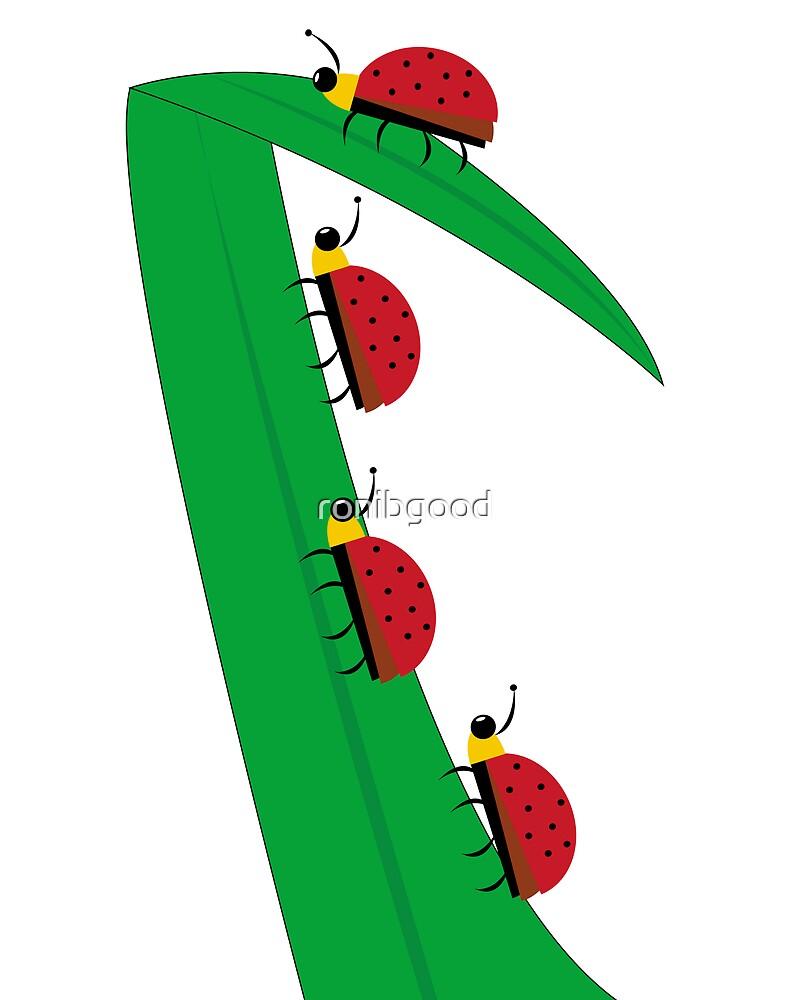 Ladybug Family by ronibgood