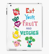 Eat Your Fruit and Veggies iPad Case/Skin