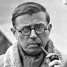 Sartre is so cute ;3 by whiteluke