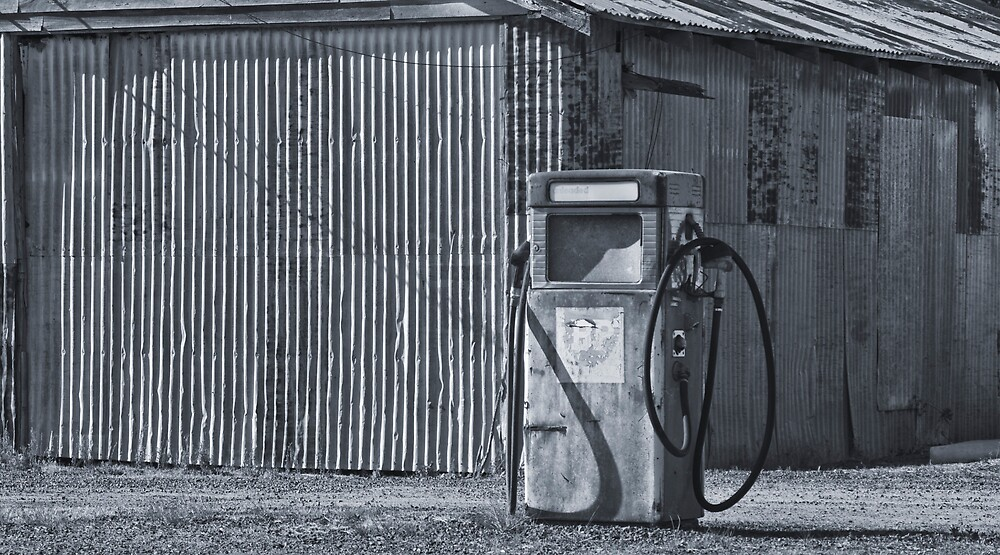 Fill 'er up,thanks by Peter Rowley