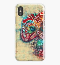 Vintage Elephant TShirt iPhone Case/Skin