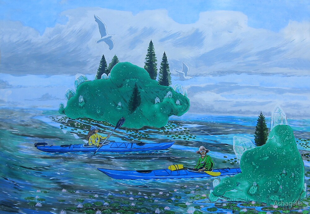 Paradise Atolls by Ashaquila