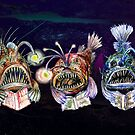 Angler Fish Reading Books 2 by didielicious