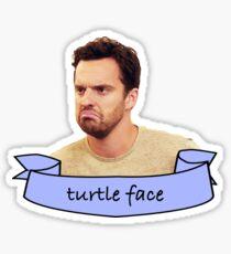 Turtle Face Sticker