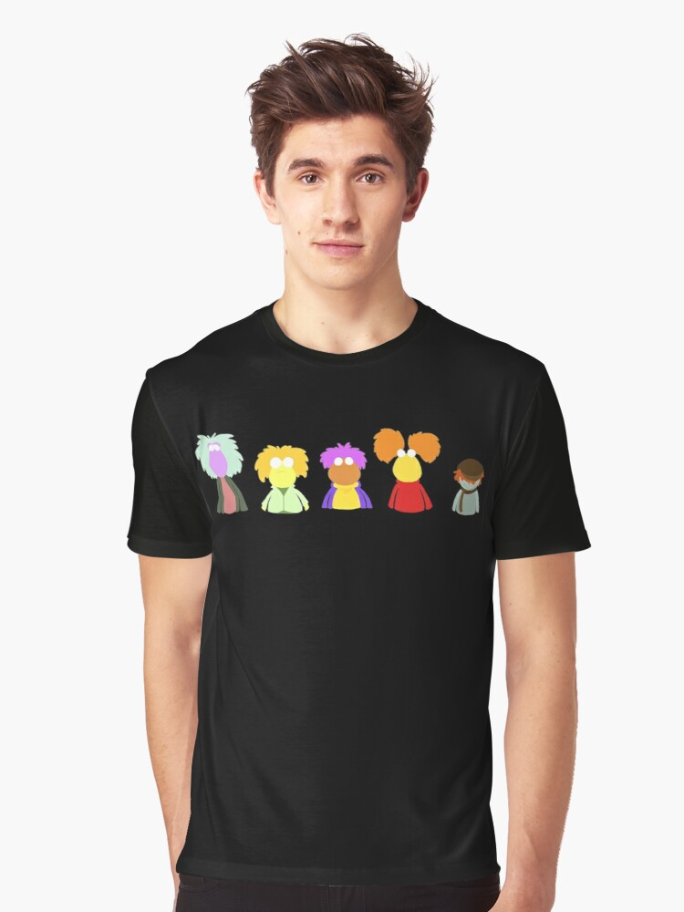 Fraggle Rock On Graphic T-Shirt Front