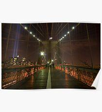 Brooklyn Bridge 911/07 Poster
