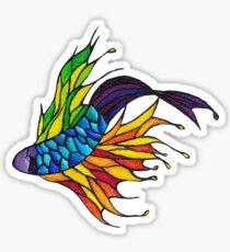 A Little Fishy Sticker