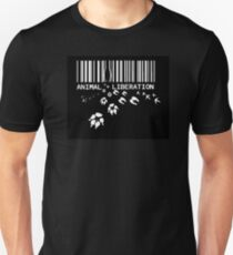 Animal Liberation - through a price tag Unisex T-Shirt