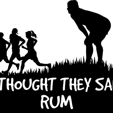 I thought they said rum by conceptitude