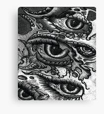 Biomechanic-Eye Canvas Print