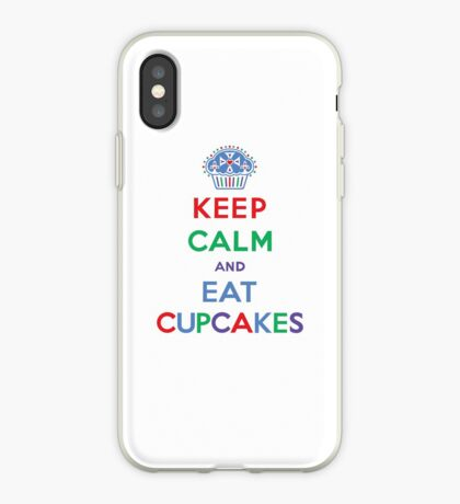 Keep Calm and Eat Cupcakes- primary iPhone Case