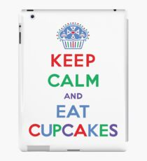 Keep Calm and Eat Cupcakes- primary iPad Case/Skin