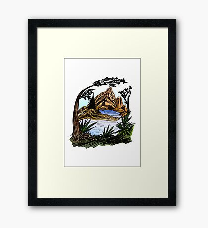 The Outdoors Framed Print