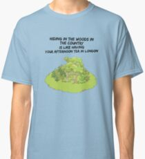 Hiding In The Woods- Woodlands  Classic T-Shirt
