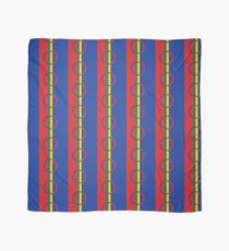 Flag of the Sami people Scarf
