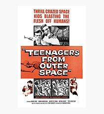 Teenagers From Outer Space Photographic Print