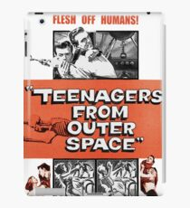 Teenagers From Outer Space iPad Case/Skin