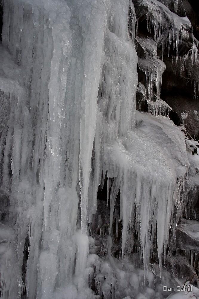 Winter Runoff Series:  Frozen Cliffs III by Dan Cahill