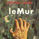 Satre Book cover by whiteluke