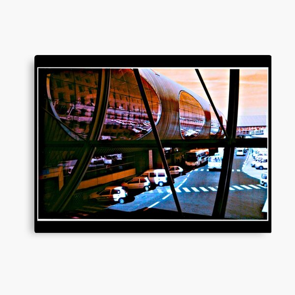 PARIS AIRPORT, TUBEWAY REKHA IYERN FE RECORDS CANADA Canvas Print