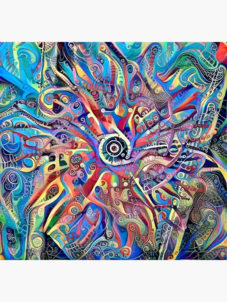 """Mandala-Kaleidoscope-""""Psychedelic Mandala"""" by Matlgirl"""