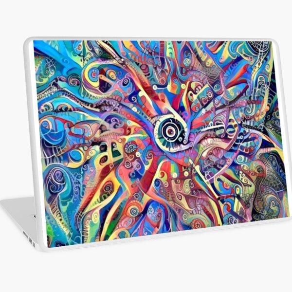 """Mandala-Kaleidoscope-""""Psychedelic Mandala"""" Laptop Skin"""